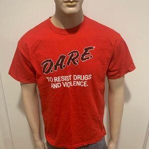 Vintage DARE Shirt to resist drugs & violence